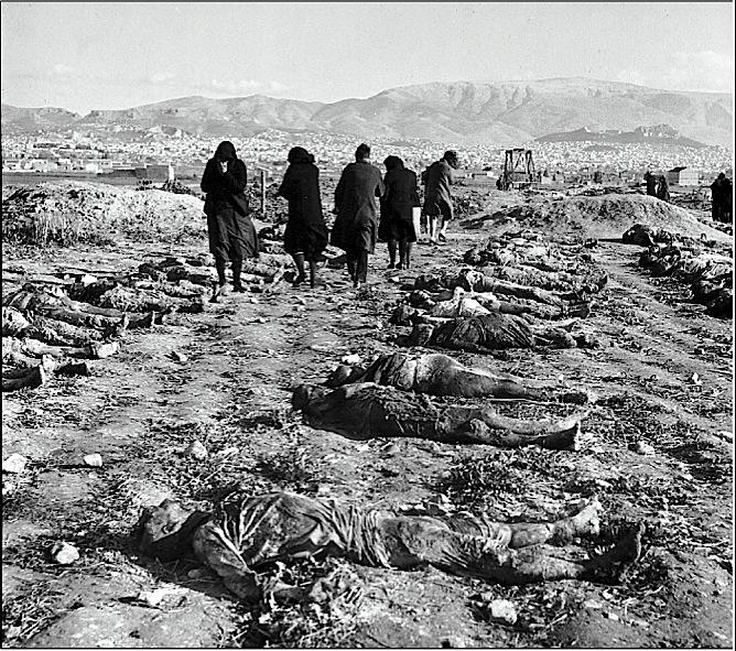ΚΚΕ, δολοφονημένοι, Δεκεμβριανά