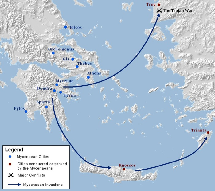 Mycenaean Greece (1550-1060 BC)