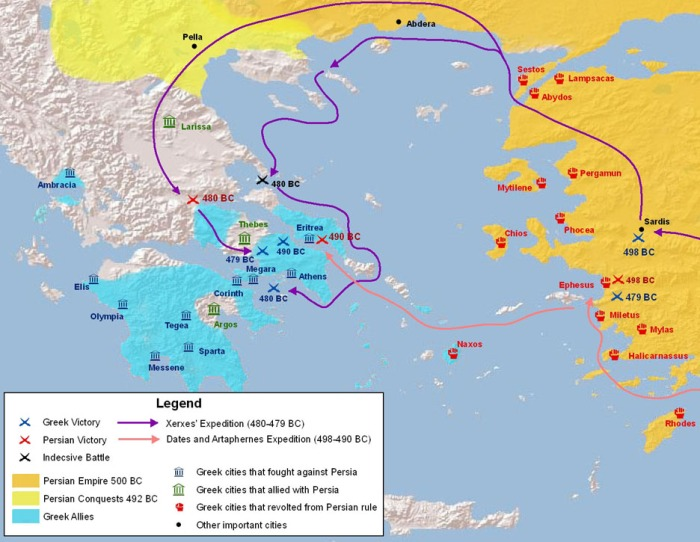 The Greco-Persian Wars (499 – 448 BC)